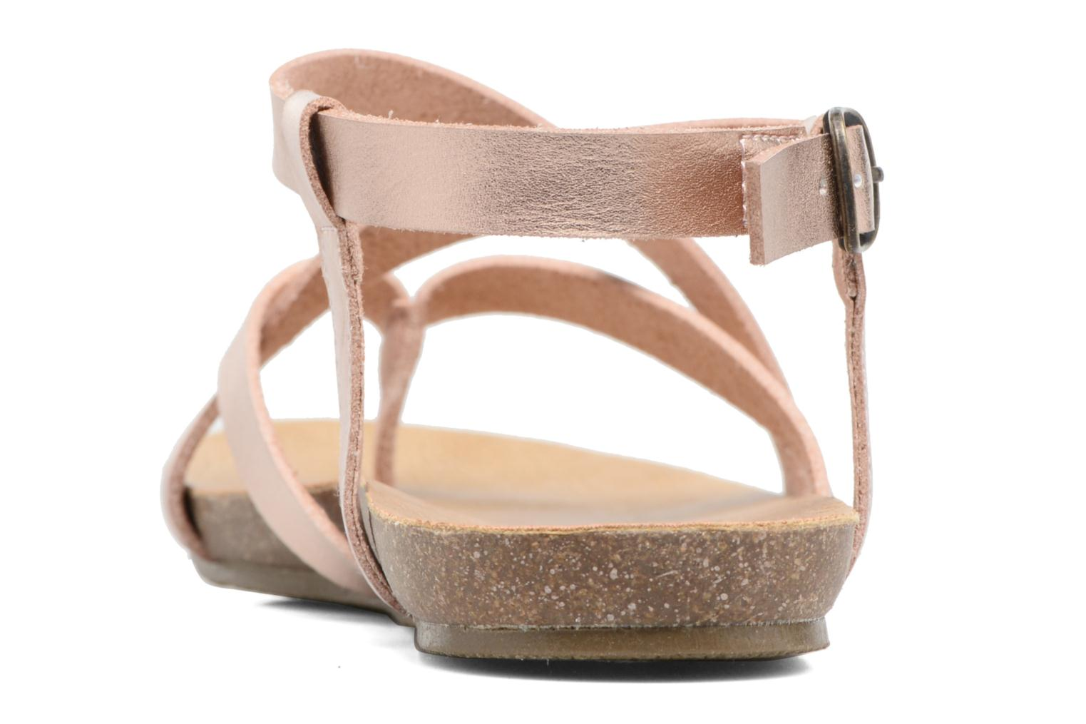 Sandals Blowfish Granola Pink view from the right