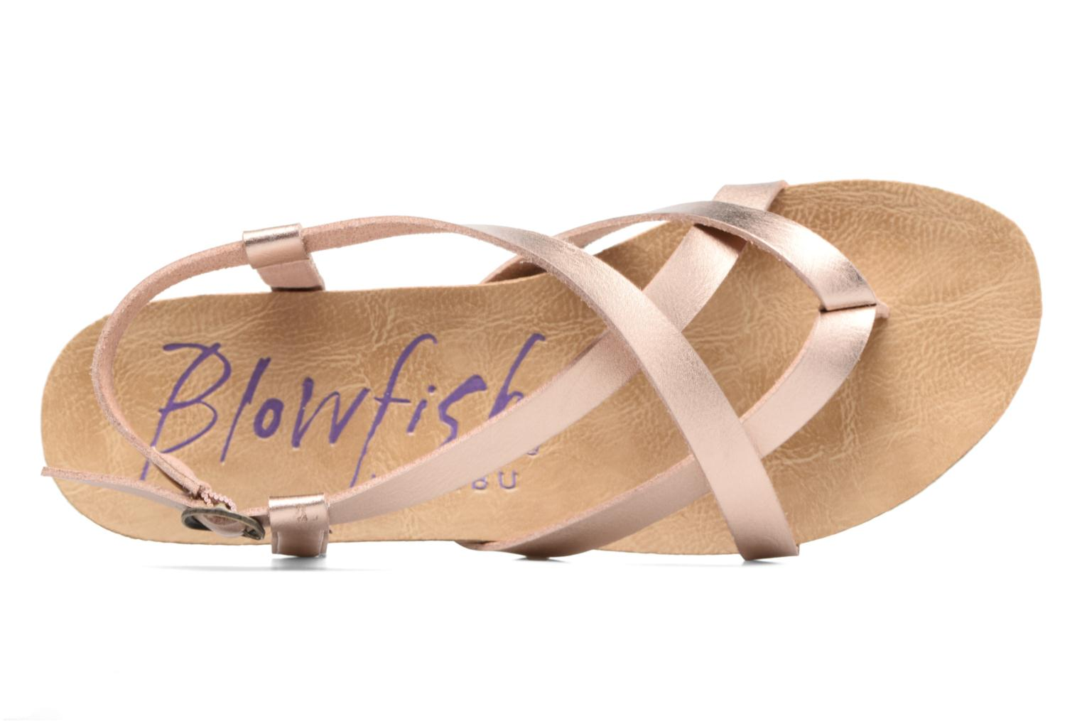 Sandals Blowfish Granola Pink view from the left