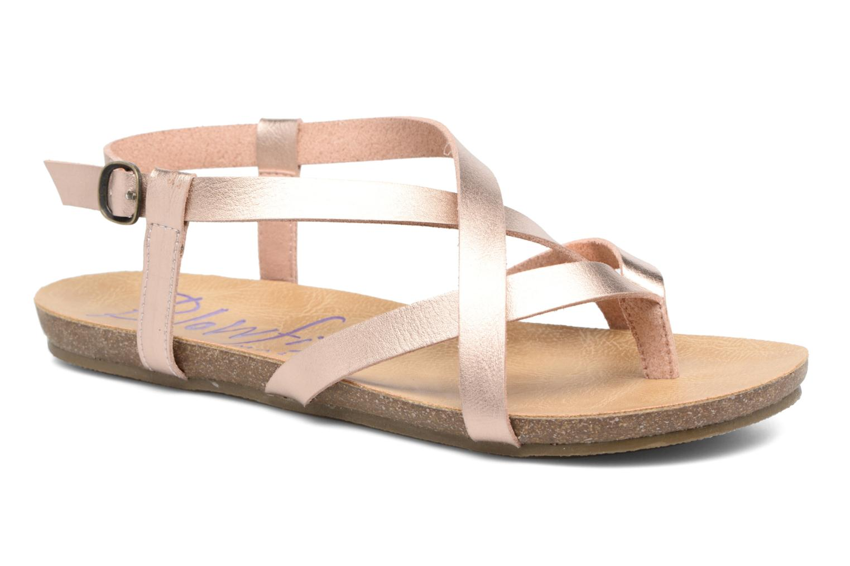 Sandals Blowfish Granola Pink detailed view/ Pair view