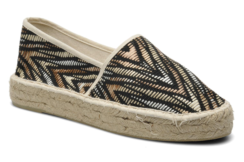 Espadrillos Colors of California Ilan Brun detaljeret billede af skoene