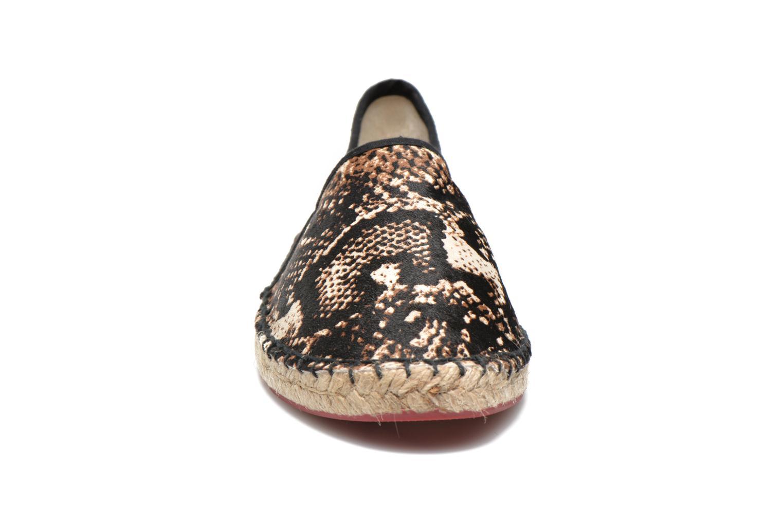Espadrilles Colors of California Lucy Multicolore vue portées chaussures