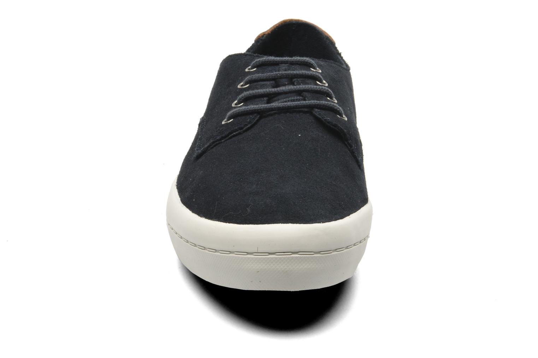 Baskets Fred Perry Savitt Suede Bleu vue portées chaussures