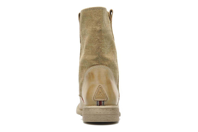 Bottines et boots Gaastra Carrack Beige vue droite