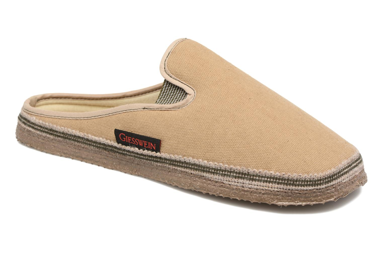 Slippers Giesswein Petersdorf Brown detailed view/ Pair view