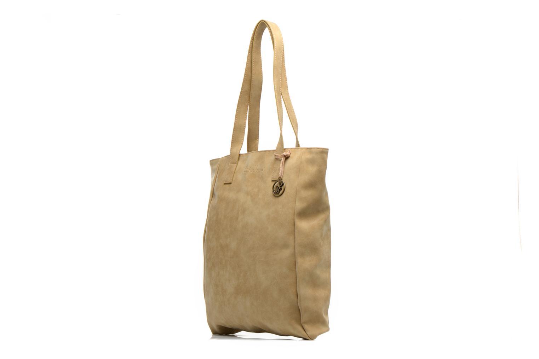 Handtaschen Little Marcel Scandal beige schuhe getragen