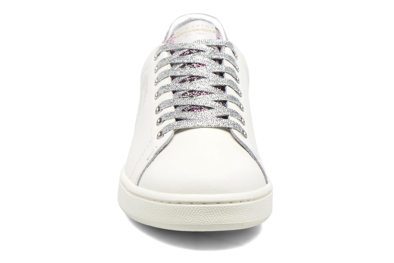 Baskets Serafini J.Connors Blanc vue portées chaussures