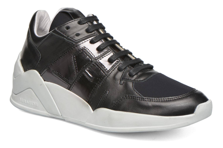 Baskets Serafini Chicago 3 Noir vue détail/paire