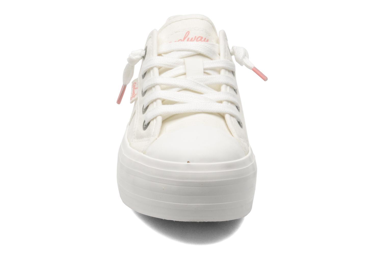 Baskets Coolway Daniela Blanc vue portées chaussures