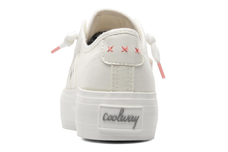 Sneakers Coolway Daniela Wit rechts