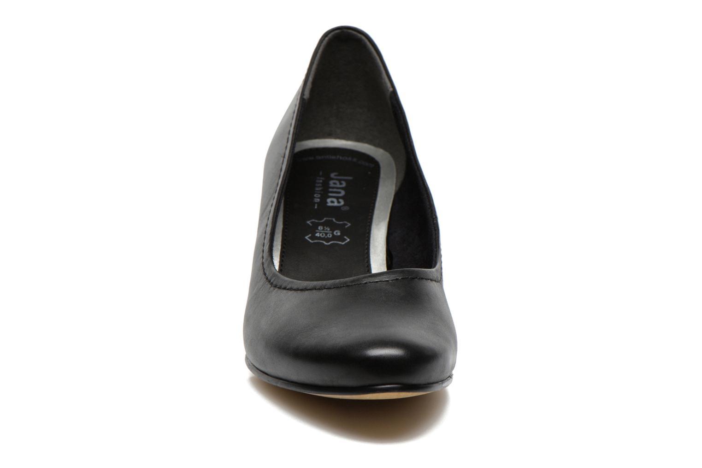 Escarpins Jana shoes Bossy Noir vue portées chaussures