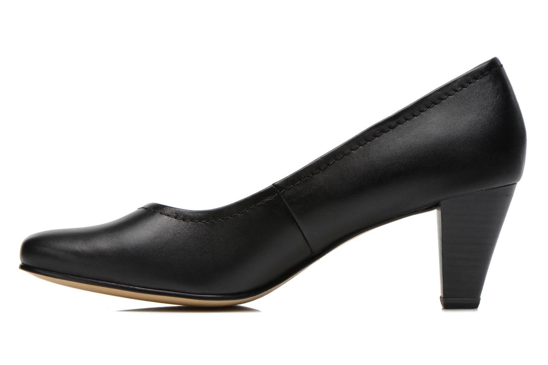 Escarpins Jana shoes Bossy Noir vue face