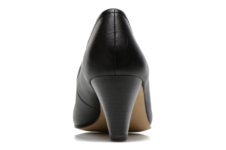 Escarpins Jana shoes Bossy Noir vue droite