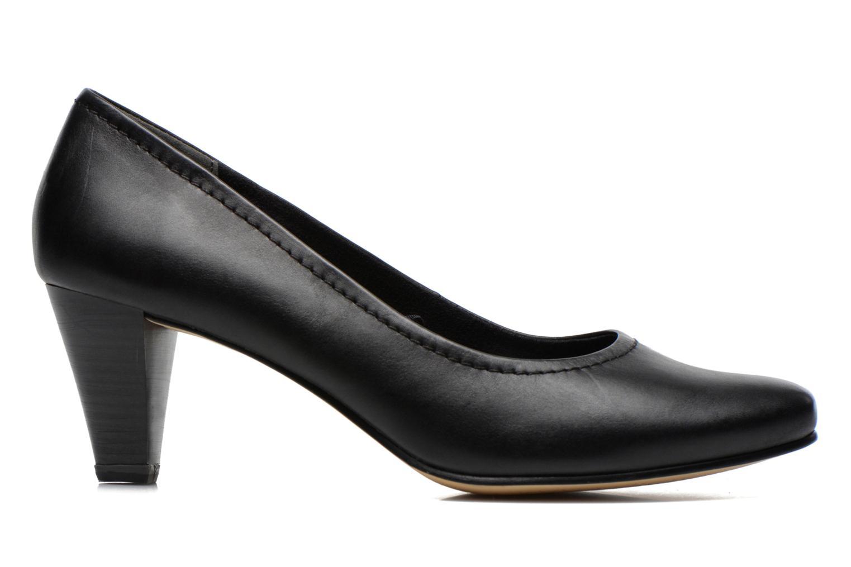 Escarpins Jana shoes Bossy Noir vue derrière
