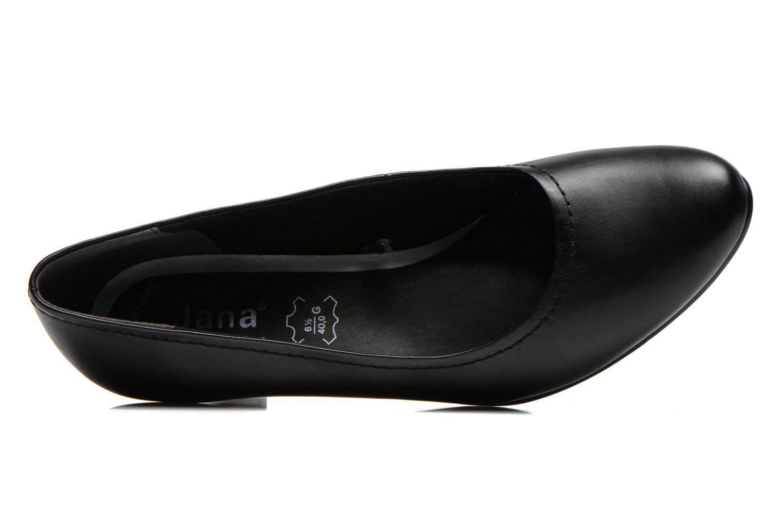 Escarpins Jana shoes Bossy Noir vue gauche
