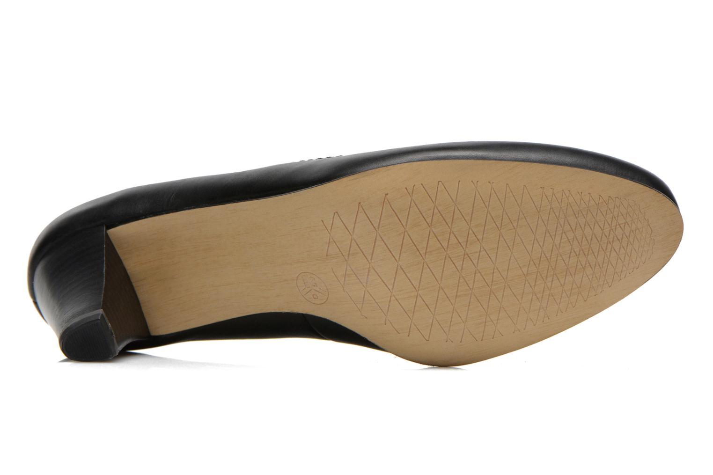 Escarpins Jana shoes Bossy Noir vue haut