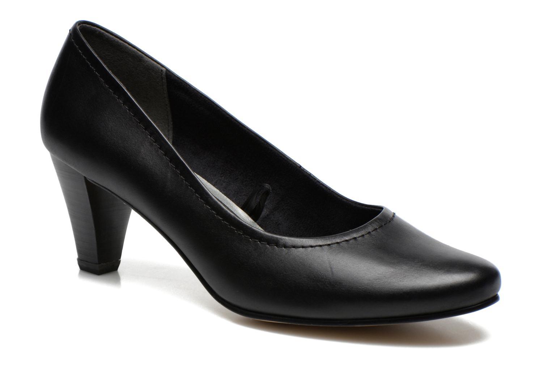 Escarpins Jana shoes Bossy Noir vue détail/paire