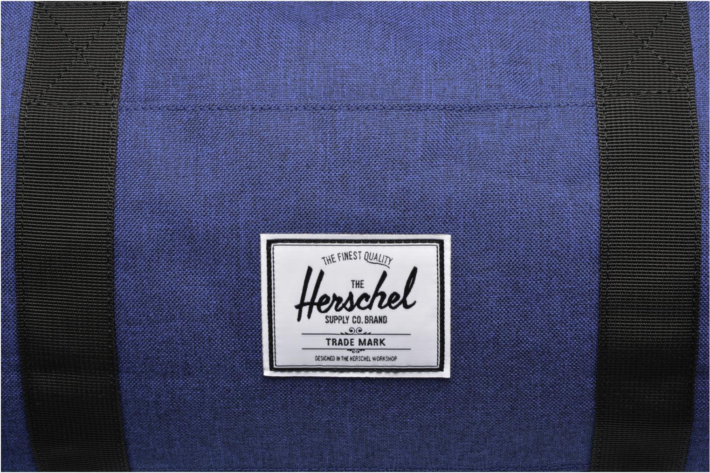 Sporttaschen Herschel Sutton mv blau ansicht von links