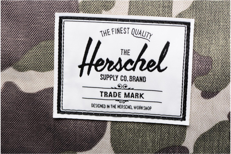 Sporttaschen Herschel Sutton mv grün ansicht von links