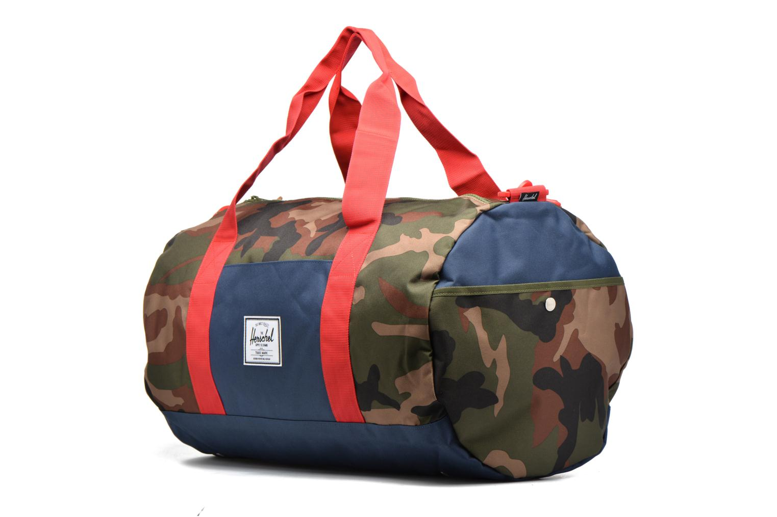 Sutton Woodland Camo/Navy/Red