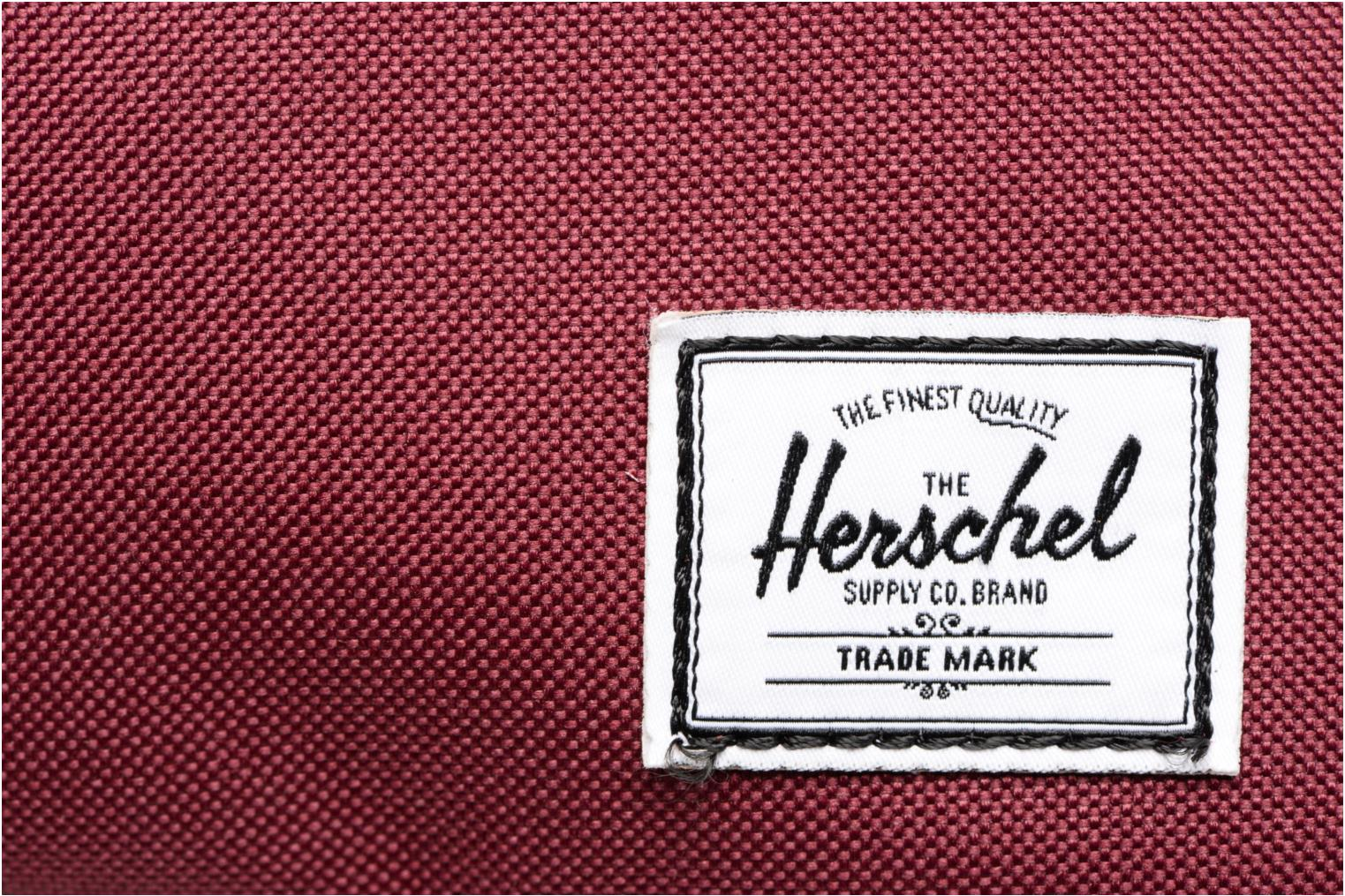 Luggage Herschel Chapter Burgundy view from the left