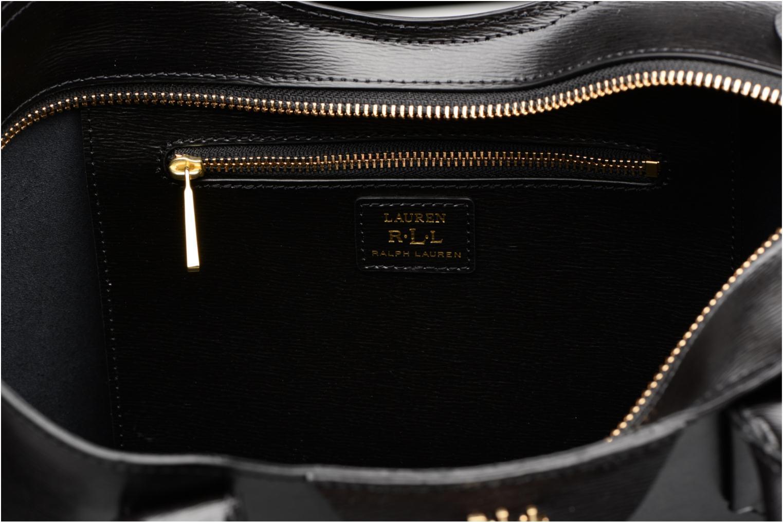 Handväskor Lauren by Ralph Lauren Tate Convertible tote Svart bild från baksidan