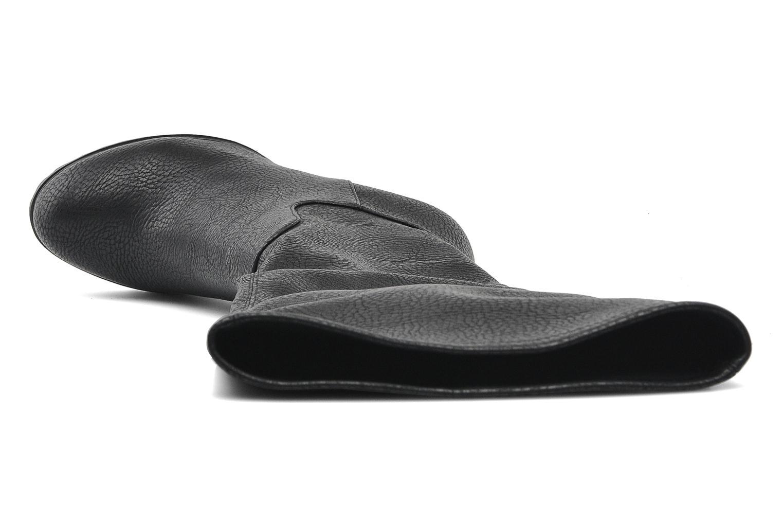 Stiefel Buffalo Granda schwarz ansicht von links