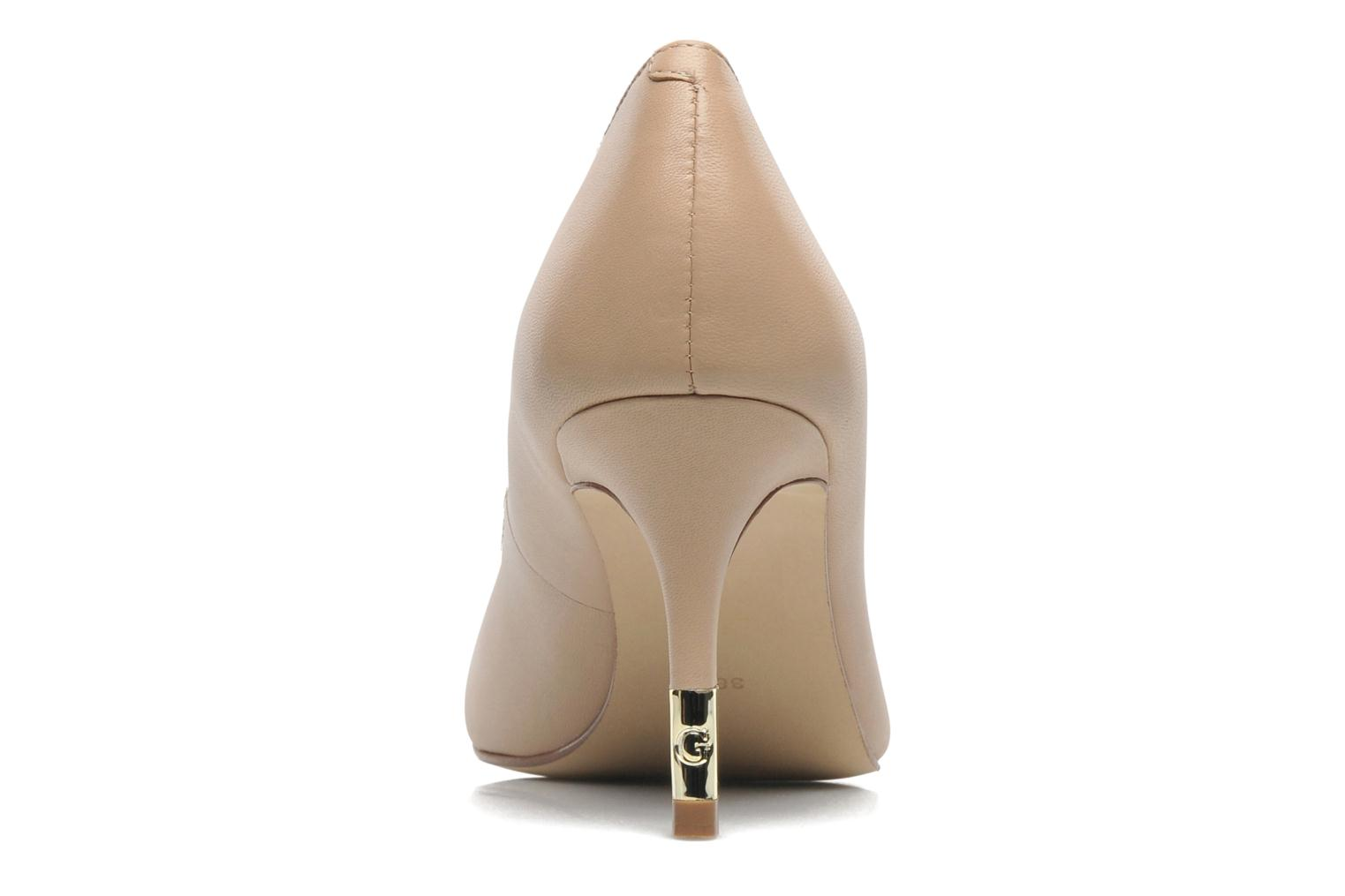 High heels Guess Racheli Beige view from the right