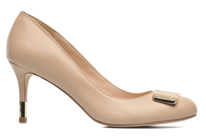 Zapatos de tacón Guess Racheli Beige vistra trasera