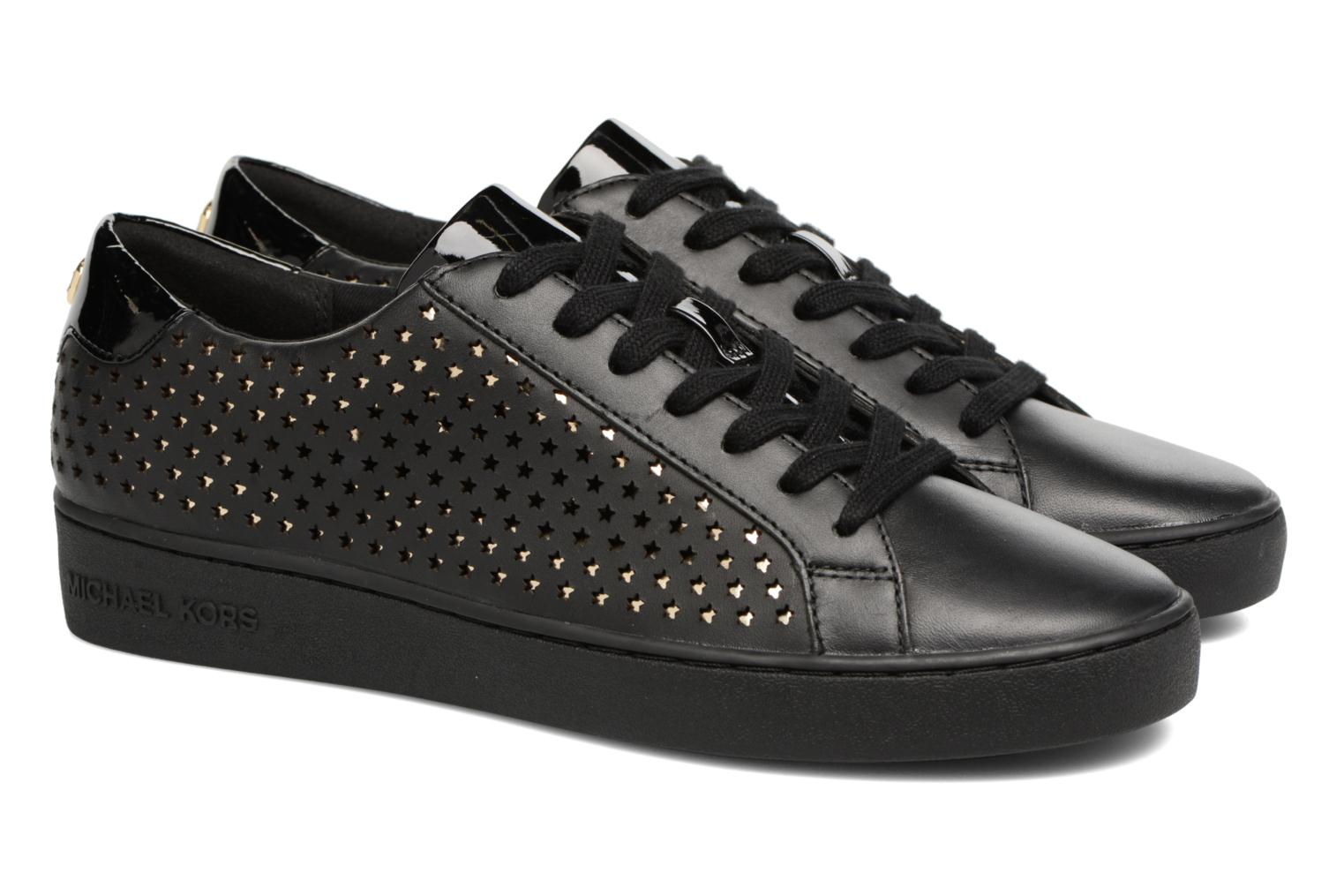 Baskets Michael Michael Kors Irving lace up Noir vue 3/4