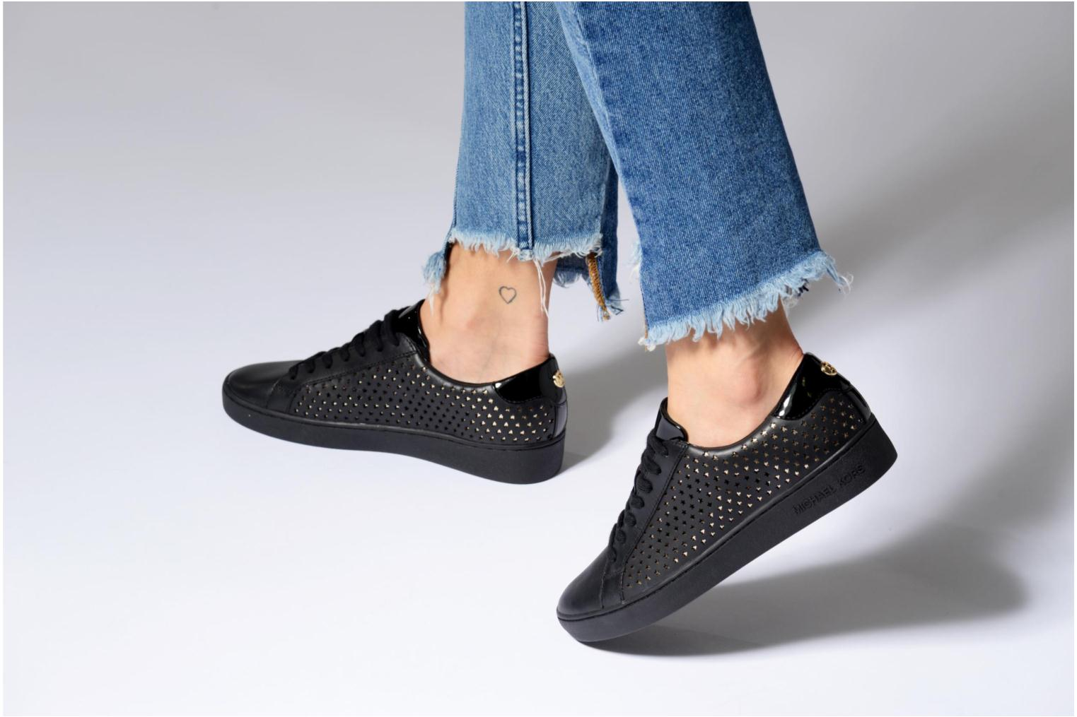 Trainers Michael Michael Kors Irving Lace Up Black view from underneath / model view