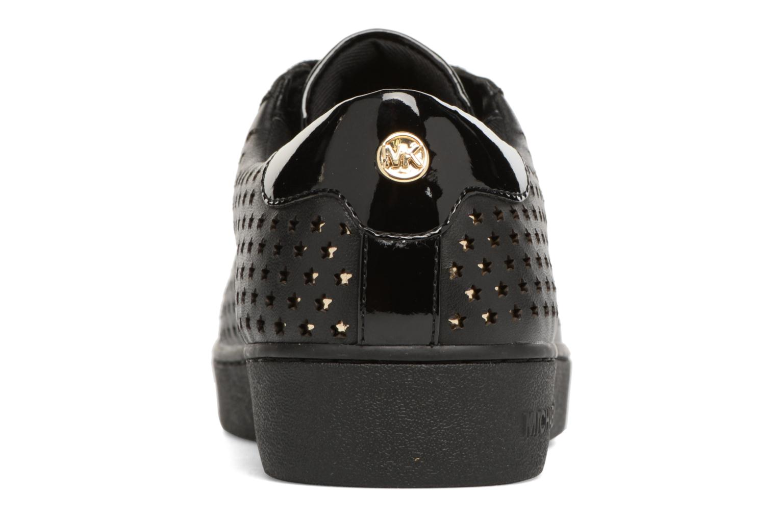 Trainers Michael Michael Kors Irving Lace Up Black view from the right