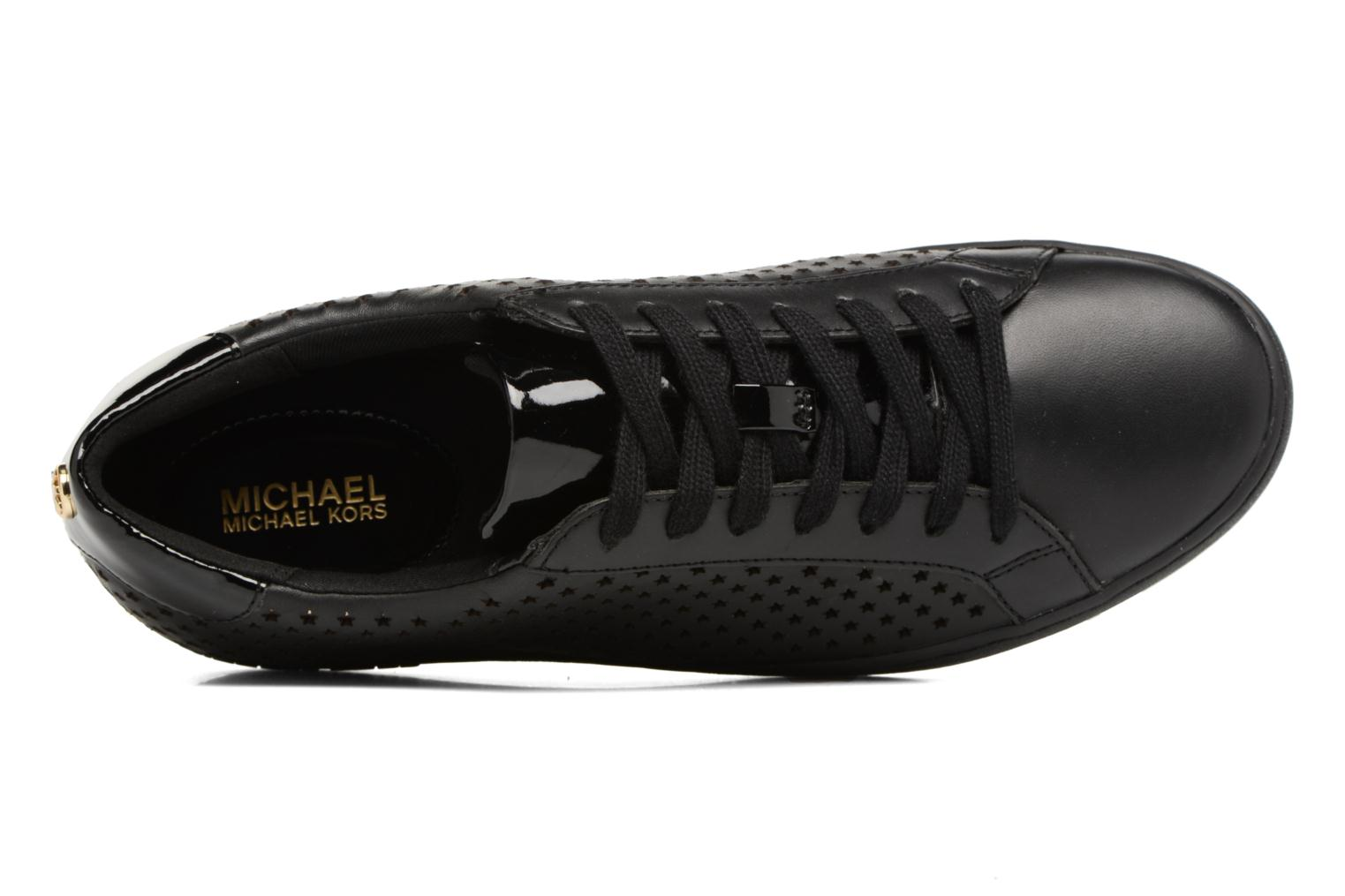Trainers Michael Michael Kors Irving Lace Up Black view from the left