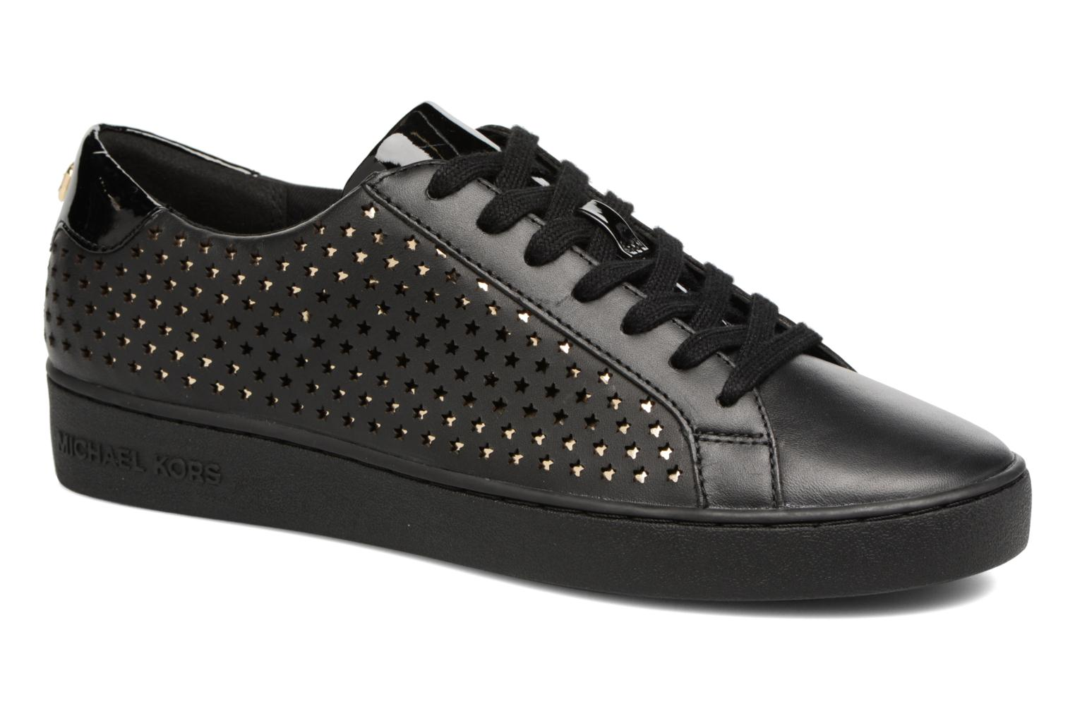 Trainers Michael Michael Kors Irving Lace Up Black detailed view/ Pair view