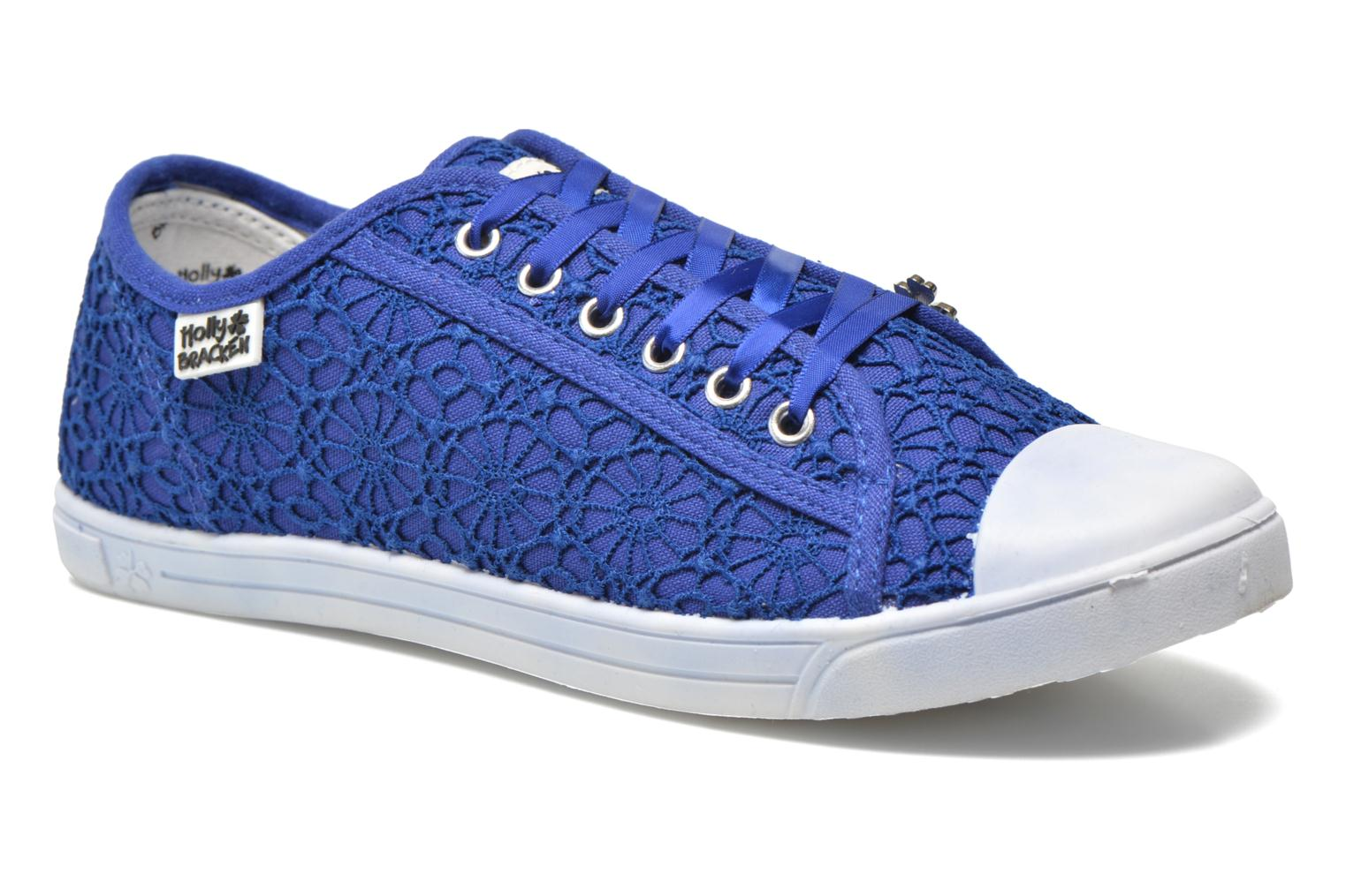 Baskets Molly Bracken Derby signature Bleu vue détail/paire