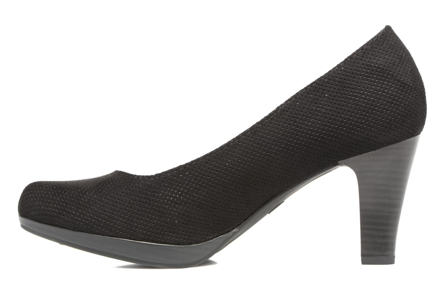 High heels Marco Tozzi Lolly Black front view