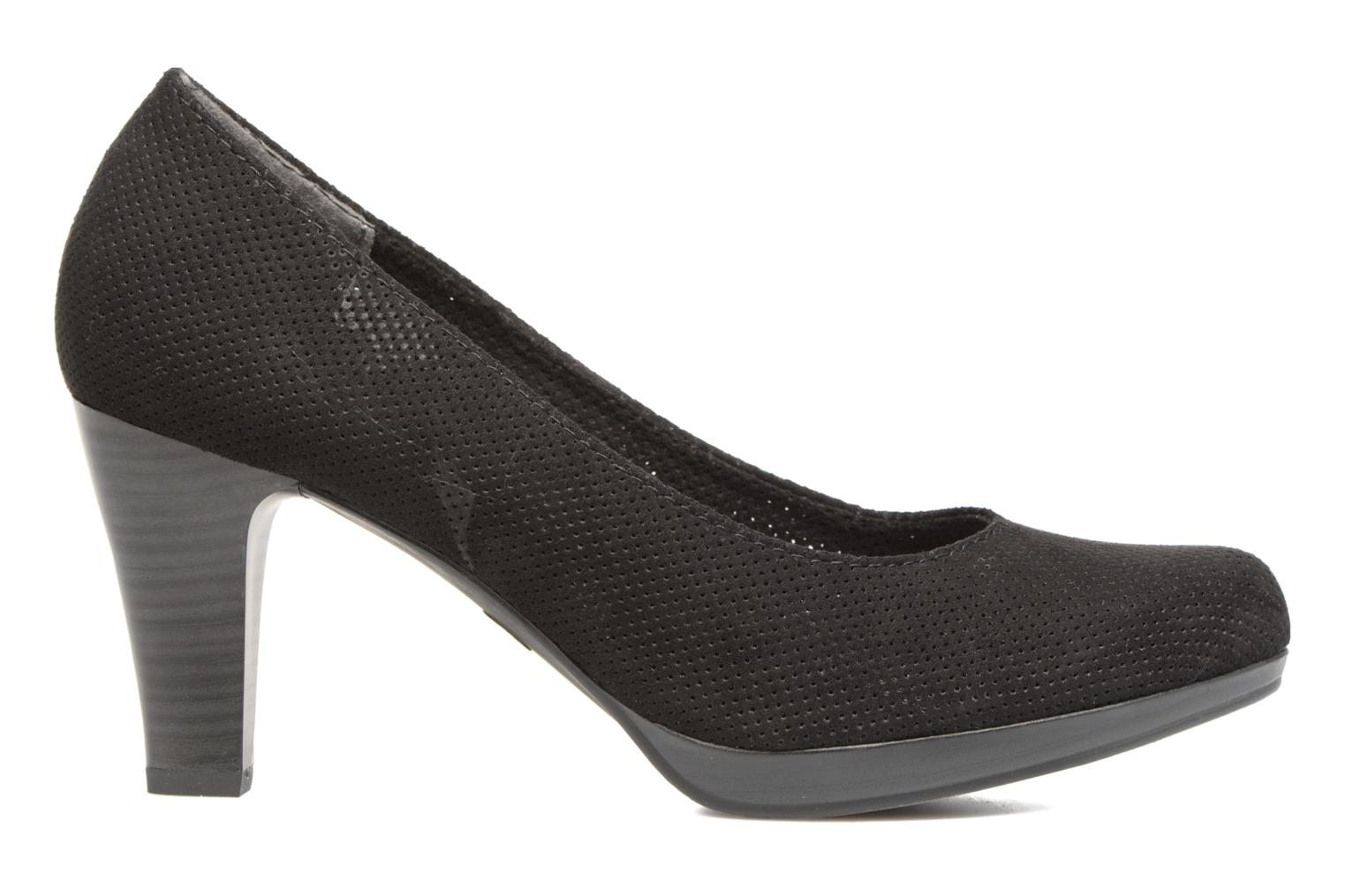 High heels Marco Tozzi Lolly Black back view