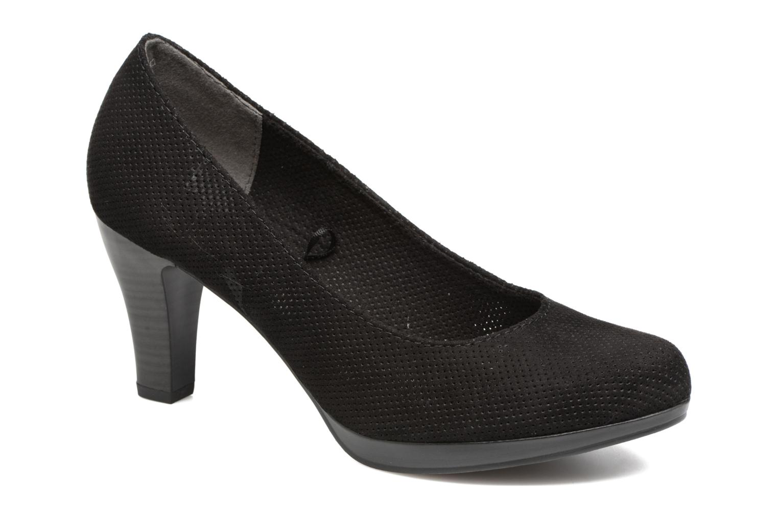 High heels Marco Tozzi Lolly Black detailed view/ Pair view