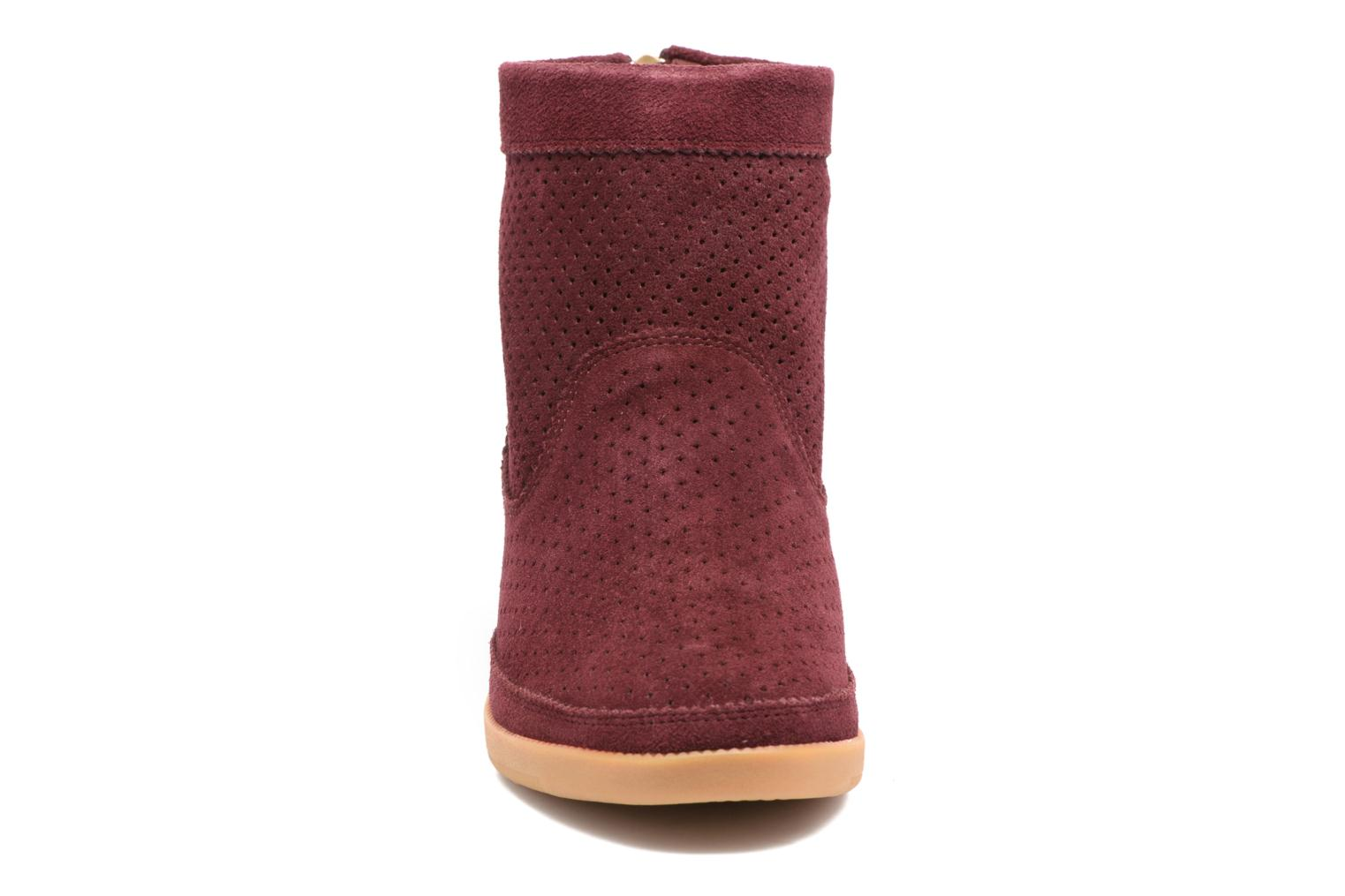 Ankle boots Shoe the bear Emmy Burgundy model view