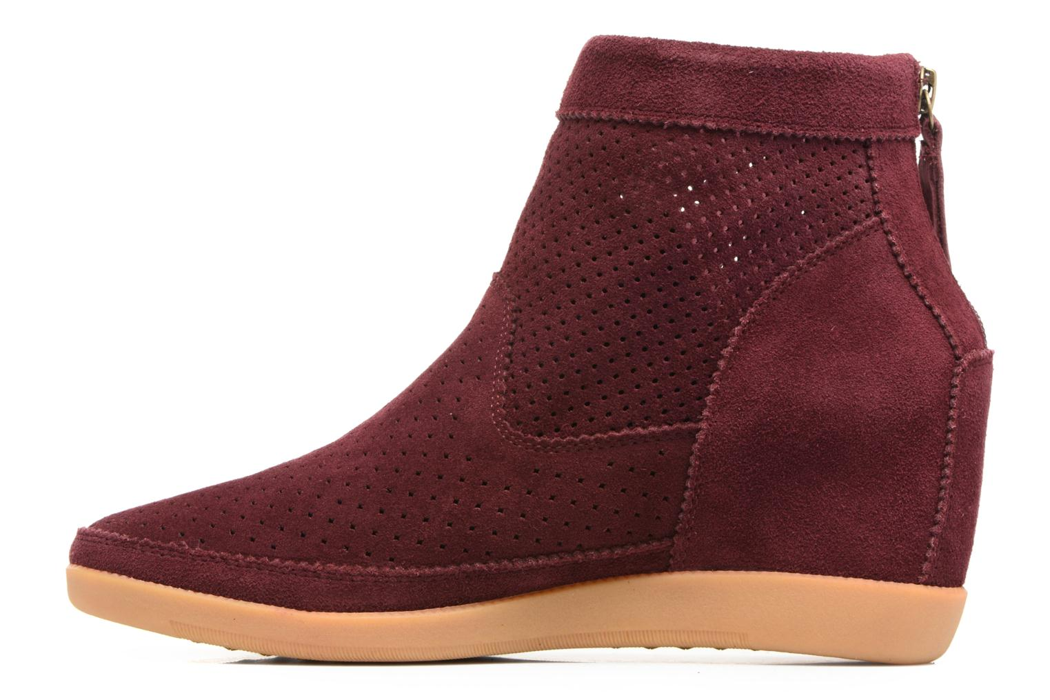 Ankle boots Shoe the bear Emmy Burgundy front view