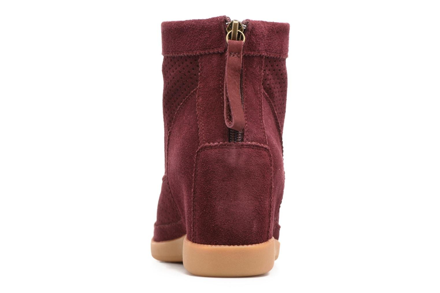 Ankle boots Shoe the bear Emmy Burgundy view from the right