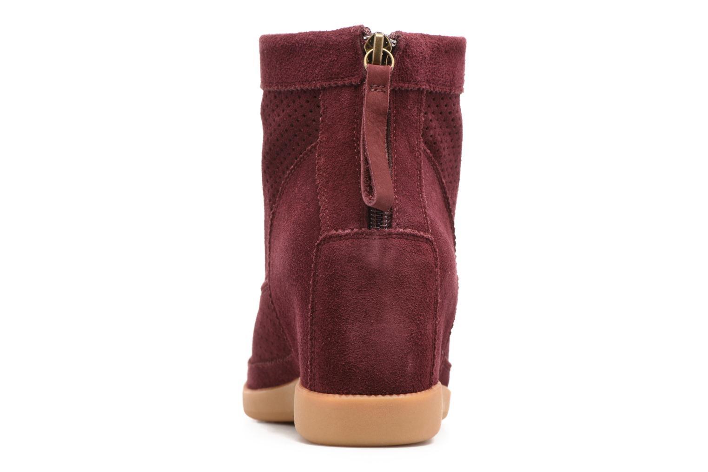 Bottines et boots Shoe the bear Emmy Bordeaux vue droite