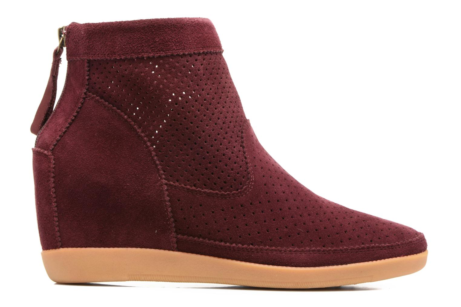 Ankle boots Shoe the bear Emmy Burgundy back view