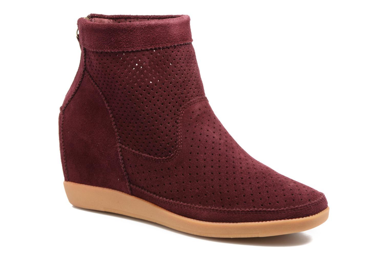 Bottines et boots Shoe the bear Emmy Bordeaux vue détail/paire