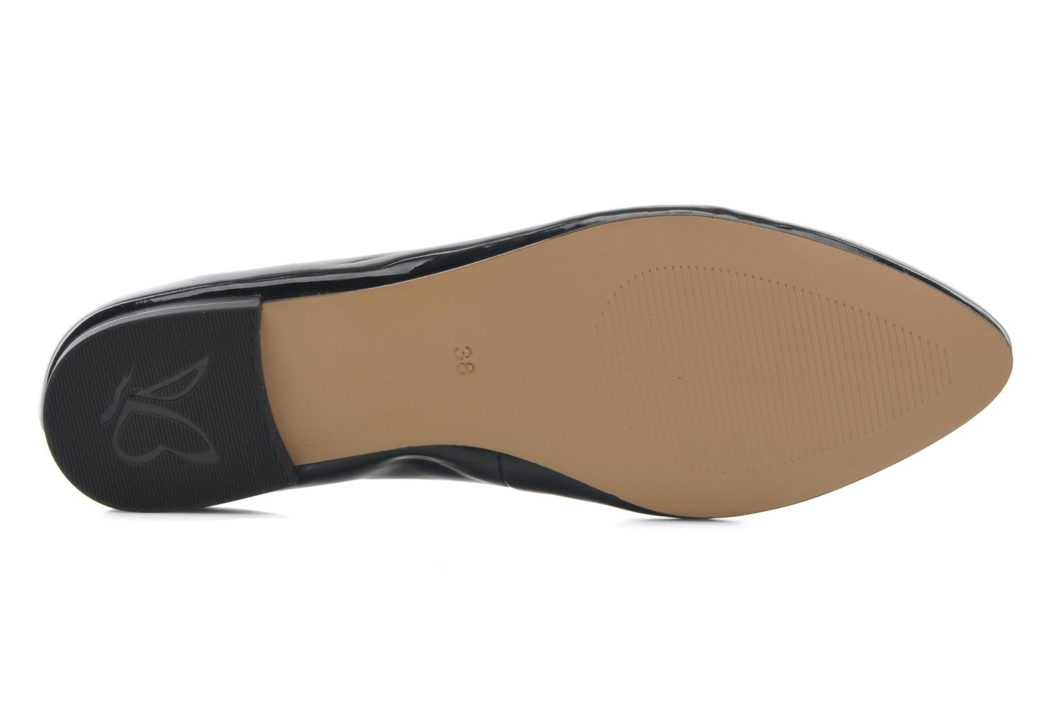 Ballet pumps Caprice Vinyle Black view from above