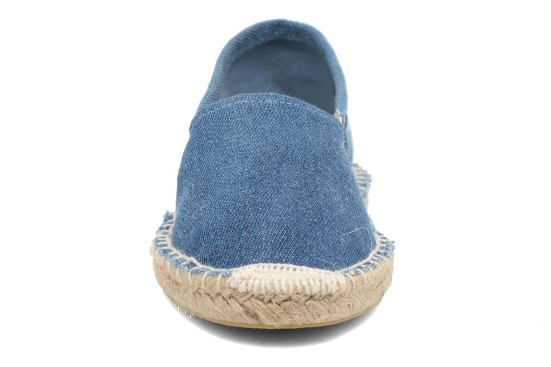 Espadrilles Pieces Haisha espadrillos Bleu vue portées chaussures
