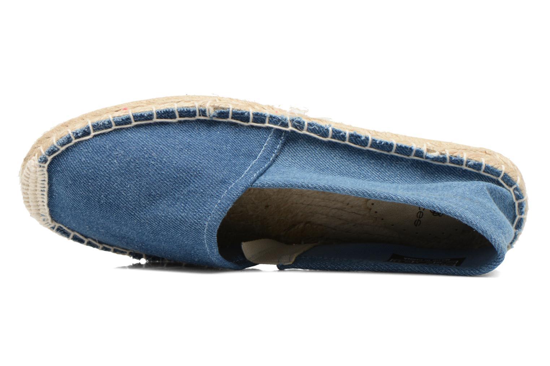Espadrilles Pieces Haisha espadrillos Bleu vue gauche