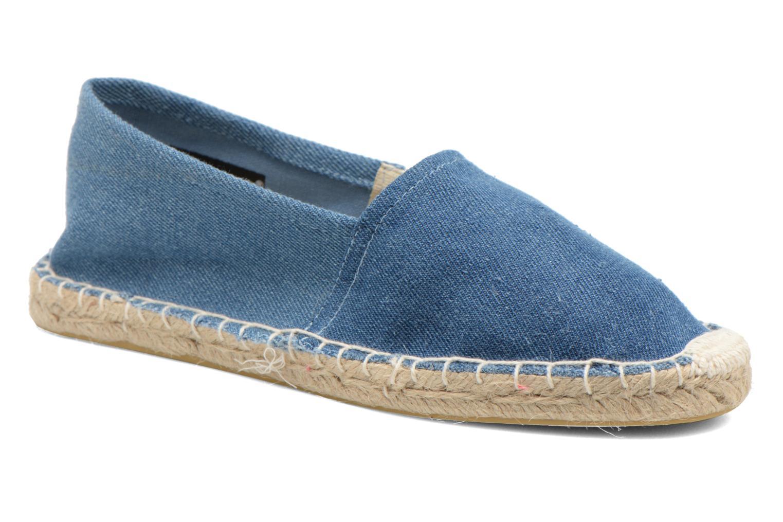 Espadrillos Pieces Haisha espadrillos Blå detaljeret billede af skoene
