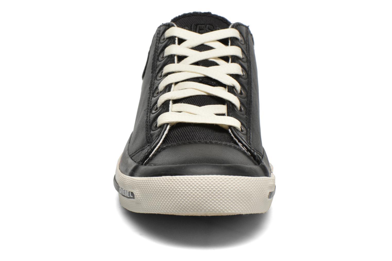 Sneaker Diesel Exposure IV Low W schwarz schuhe getragen