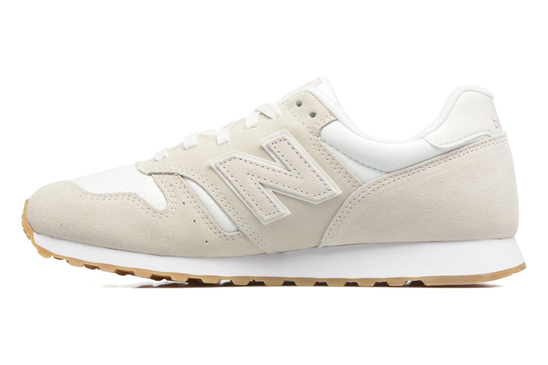 Sneaker New Balance WL373 beige ansicht von vorne