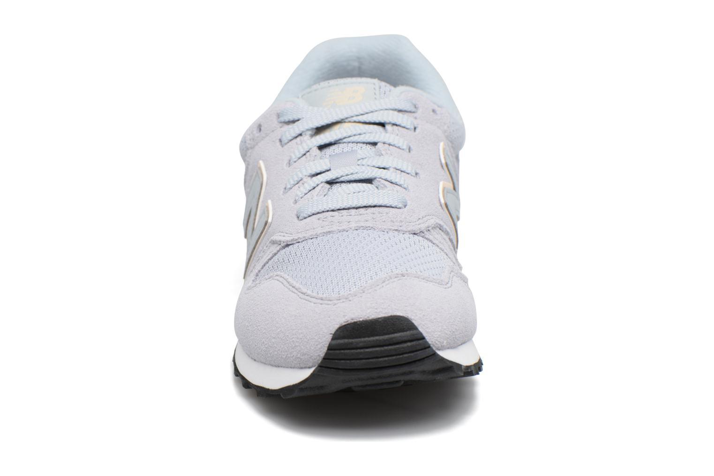 Sneaker New Balance WL373 blau schuhe getragen